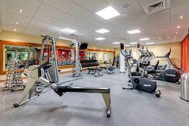 Radisson Blu Hotel Dortmund: Fitness-Center