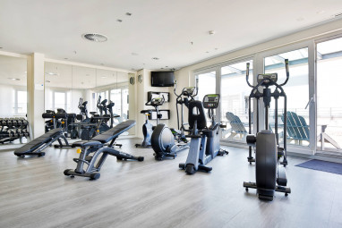 Radisson BLU Hotel Hamburg Airport: Fitness-Center